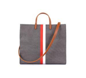 Novo Design Mulheres Lady Mala Moda lenço de seda Tote Sacos de ombro removível com bolsa pequena bolsa