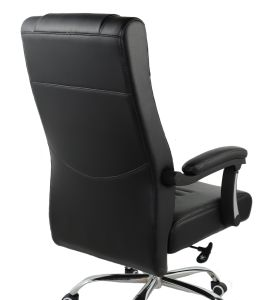 Proponer nuevo refuerzo de cuero de PU Oficina Ejecutiva silla con tapizado de la primavera (LSP-H006)