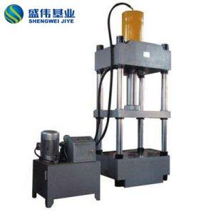 Quattro macchina della pressa della colonna SMC dal sistema di controllo del PLC