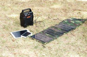 Инвертирующий усилитель мощности 100 Вт литиевые батареи солнечной электростанции 278WH