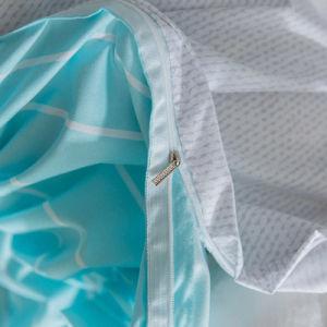 Microfiber Duvet-Deckel-Set gedrucktes Bettwäsche-gesetztes Blatt-Set