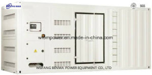 Generatore diesel silenzioso/calmo con il baldacchino per uso standby