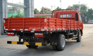 Rhd/LHD Dongfengの大尉125 HPの4トンの貨物自動車の貨物軽トラック