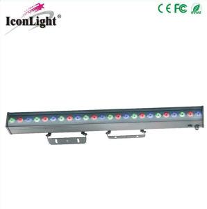 100cm 18x3W à LED RVB de la rondelle de mur extérieur