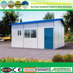 Fácil de instalar la luz de estructura de acero prefabricados Home Casa de Campo prefabricadas