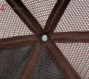 Fashionable 3D Bordados Caminhoneiro Tampa com 100% de algodão