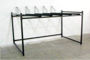 新しいデザイン2二重屋外の黒色火薬の上塗を施してある駐車バイクラックPV00043