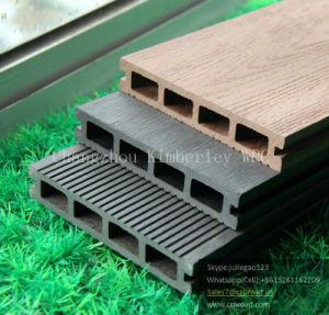 Anti-UV WPC composto de plástico de madeira em deck piso exterior