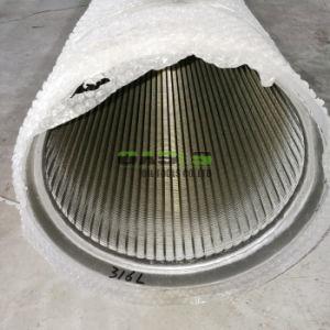 스테인리스 Steel Screen Pipe 단단한 Liquid Separation Water Well - 스크린