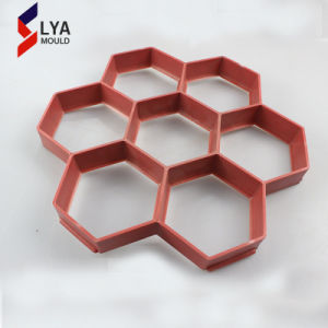 De plastic het Bedekken van de Betonmolen Met elkaar verbindende Concrete Vorm van de Steen van de Baksteen