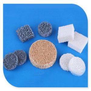 Le carbure de silicium en céramique Sic filtre en mousse pour l'industrie de filtration de métal