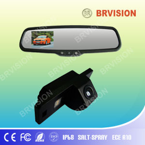 Зеркало заднего вида с универсальной системы мини-камеры