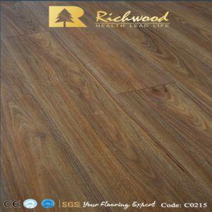 Домашних хозяйств 12,3 мм E0 оптовой виниловых Хикори древесины деревянные ламинатный пол