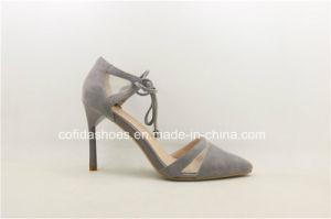 Sexy High Heels dame de la mode des chaussures en cuir pour mariage