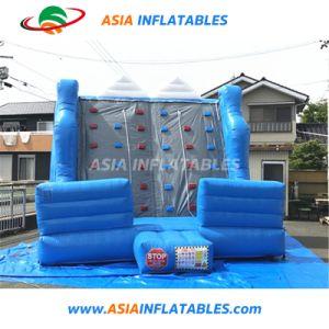 Parete rampicante gonfiabile rampicante superiore blu della torretta della parete da vendere