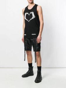 Douane 100% van de Mensen van mannetjes Katoen/Druk Polyster/het Duidelijke In te ademen Sneldrogende Hemd van het Vest van het Mouwloos onderhemd van de Slijtage van Sporten