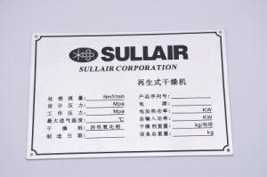 OEM/Acero Inoxidable Aluminio/Zinc y Hierro latón/placa de características industriales