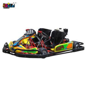 Parque de Diversões Racing duas pessoas adultas 2 jogadores Pedal Gasolina Go Kart