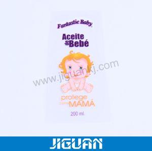 Shampoo Perfume impresso electrónico do produto cosmético etiqueta autocolante de cola do rolo