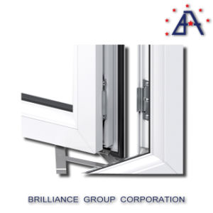 Morden 알루미늄 디자인 최신 판매 표준 크기 여닫이 창 Windows