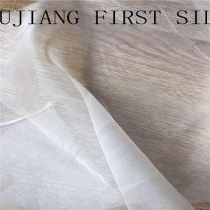 Suite tecido organza acetinado de seda 100%, Seda Tulle tecido. Organza de seda para vestido de casamento
