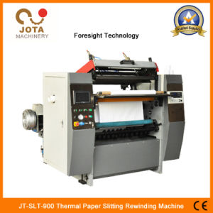 Los pequeños rollos de papel térmico de la máquina de corte longitudinal (JT-SLT-900)