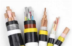 Подземный кабель стальная проволока медного кабеля питания с изоляцией из ПВХ кабеля питания