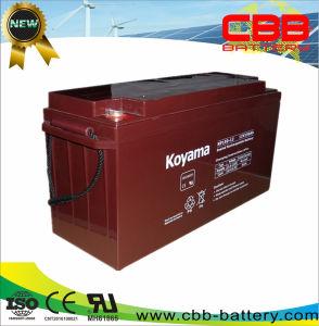 150AH AGM Батареи Аккумулятора VRLA Батареи ИБП 12В Солнечная Глубокого Цикла Гель Батареи Герметичная Свинцово-кислотная Аккумуляторная Батарея