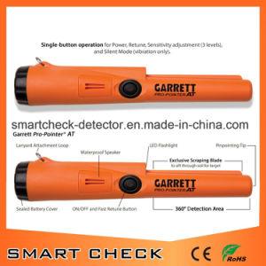防水金の金属探知器の手持ち型の金属探知器の長距離金の探知器