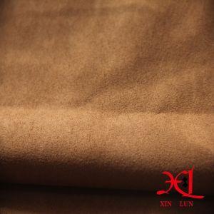 Lado bronceado de gamuza de poliéster tejido bolsa/Vestir/Zapatos/tela