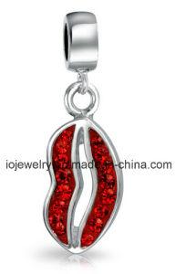 Il marchio su ordine del metallo incanta il commercio all'ingrosso Pendant di smaltamento molle Handmade