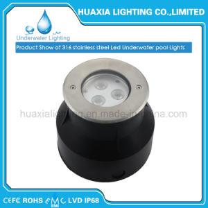 Нержавеющая сталь IP68 12V светодиодная лампа 9 Вт подводного освещения