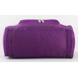 方法デザイン男女兼用のナイロンハングの洗浄旅行洗面用品袋
