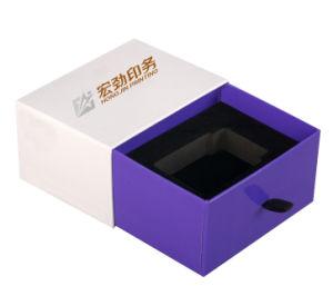 Logotipo personalizado de lujo hechos a mano vela redonda de Papel Caja de regalo