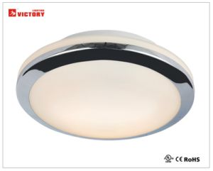 簡単な円形ガラスLEDの現代簡単な天井の照明
