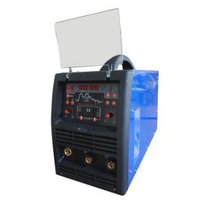 Pulso inversor IGBT automático de doble de CO2 Máquina de soldadura Pulsemig250DC-1
