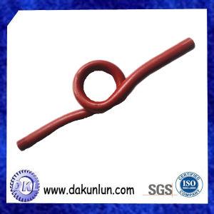 高精度のカスタマイズされた赤い溶接された鋼管の付属品