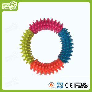Drei - Farbe mit Spielzeug des Stoß-Kreis-HundTPR