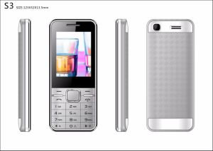 Fashionable barato 2,4 polegadas duplo SIM dispõem de telefone móvel GSM MP3 MP4 FM C12