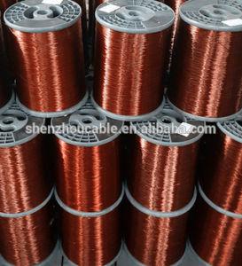 Круглые алюминиевые эмалированные провода обмотки возбуждения