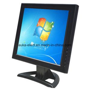 Video dell'affissione a cristalli liquidi da 15 pollici con lo schermo di tocco per il visualizzatore del computer