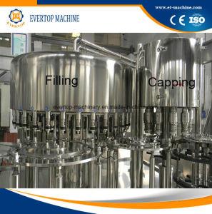 Línea de producción de llenado de agua de botella