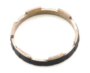 Anello lavorante di precisione con H59 ottone (DR058)