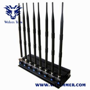 8 GPS Lojack van Cellphone WiFi van banden Regelbare Krachtige 3G 4G Stoorzender