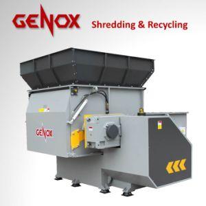 Papel do triturador de metal máquina de plástico de madeira para trituração de eixo único (BH1500)