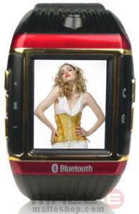 Touch-Screen van 1.3 Duim, vierling-Band de Mobiele Telefoon van het Horloge met Camera 1.3MP (mmp-wm-W08)
