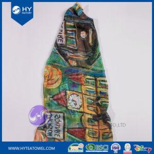 Diseño personalizado de Impresión Digital Dama Pañuelo de seda