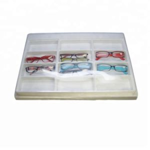 Le design de mode cosmétique plastique de haute qualité de l'emballage des lunettes de soleil Box