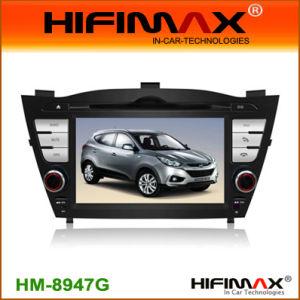 Sistema di navigazione dell'automobile DVD GPS di LEHifimax per i tubi fluorescenti della Hyundai Ix35 (HM-8947G) D (NL-T8-D6009W)