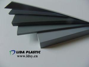 Strato rigido di colore trasparente della radura di bianco grigio del PVC del fornitore con il pallet di legno (spessore 1mm-60mm)